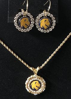 Lions Head Medallion Full Set