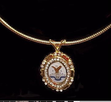 Eagles F.O.E. Ladies Auxiliary Medallion Set