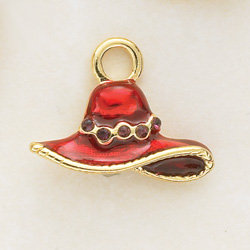 Red Hat Society Charm