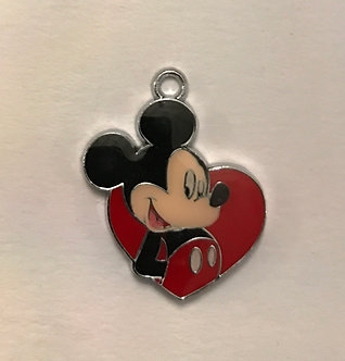 Mickey Mouse Charm Pair