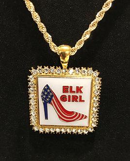 Elk Girl Medallion Set