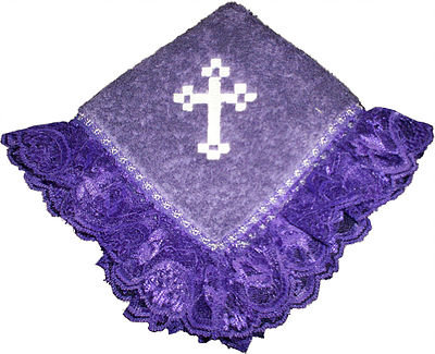 SQUARE CROSS FANCY TOWEL