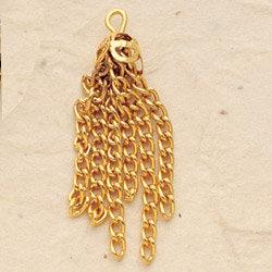 Dangle Chain Charm Pair
