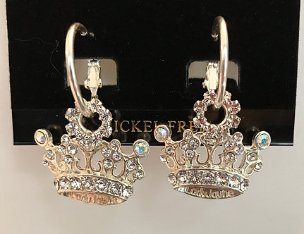 Daughters of the Nile Crystal Crown Earring Set