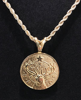 """Elks 11th Hour """"His and Hers"""" Medallion"""