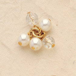 Cluster Pearl Charms