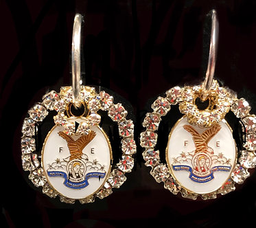 Eagles F.O.E. Ladies Auxiliary Earring Set