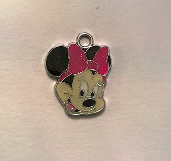 Minnie Mouse Charm Pair