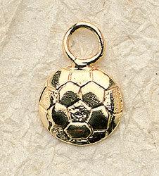 Soccer Ball Charm Pair