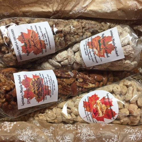 Maple Coated Nuts