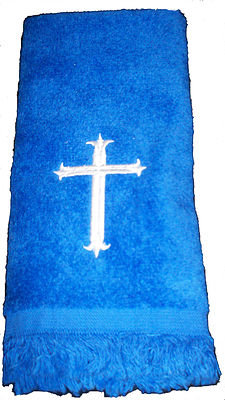 CROSS FINGERTIP TOWEL