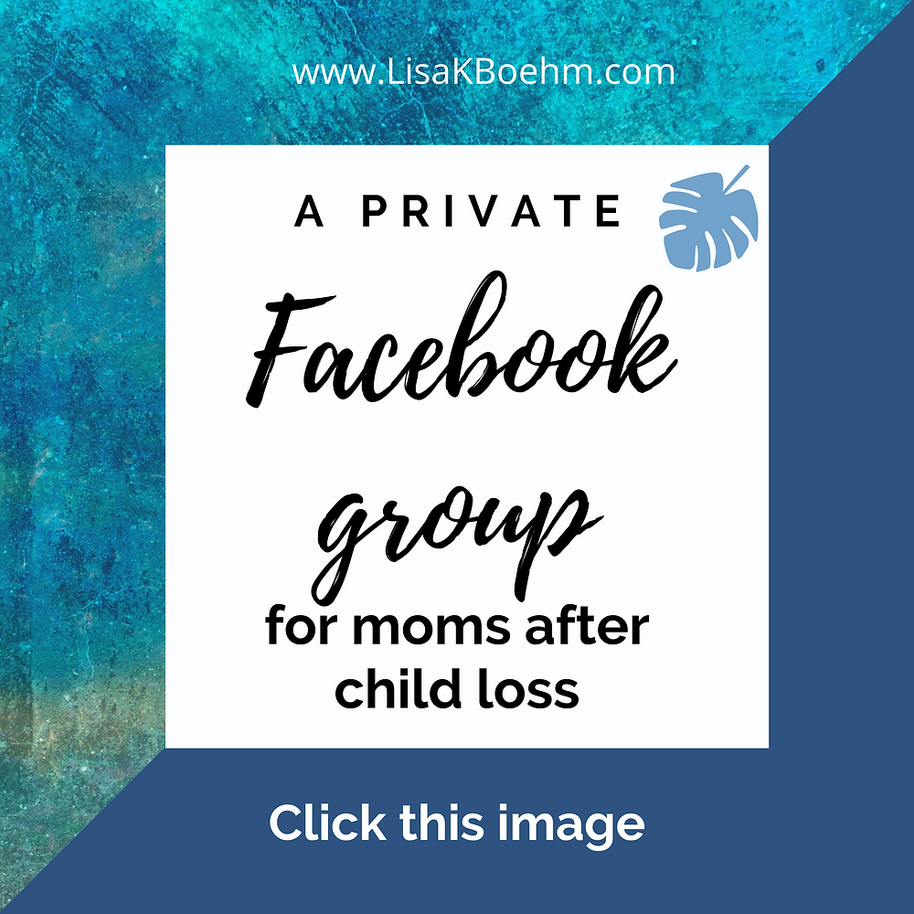 Child loss grief support