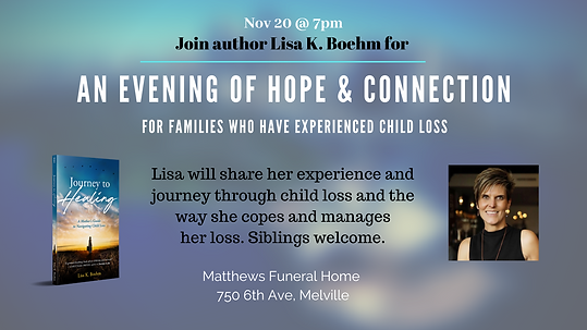 An Evening of Hope & Connection Facebook