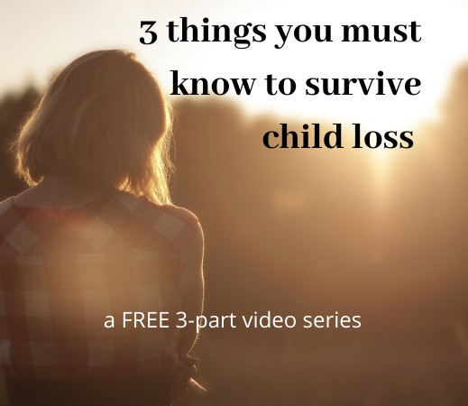 Child loss support, death of a child