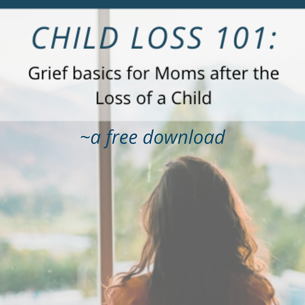 a book about child loss