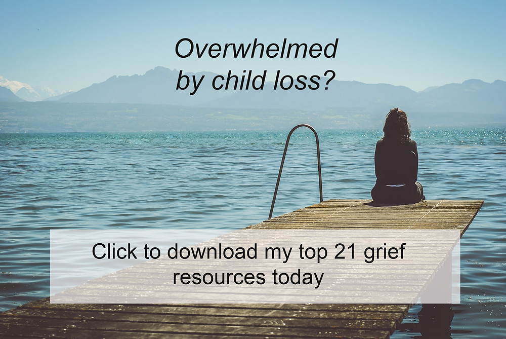 Child Loss Support for grieving mothers