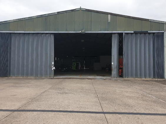 Air Hanger before