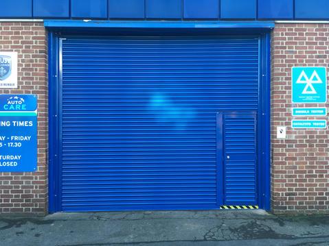 Roller Shutter With Wicket Door