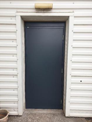 Anthracite Grey Personnel Door