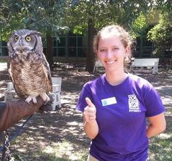 Liz's Houston Zoo internship
