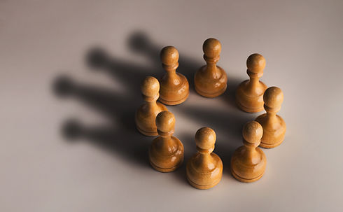 chess-pawn-circle-with-shadow-shaped-as-