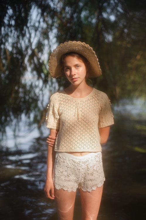 Vintage 1970s Crochet Top