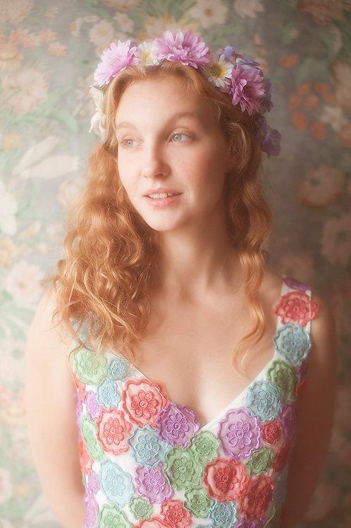Pretty Daisy Flower Crown