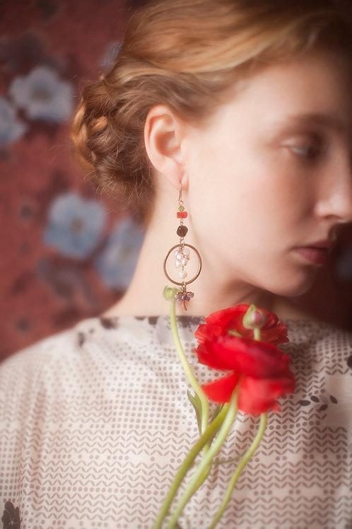 Precious Dragonfly Earrings