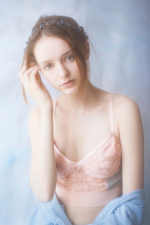 Light Pink & Grey Bralette