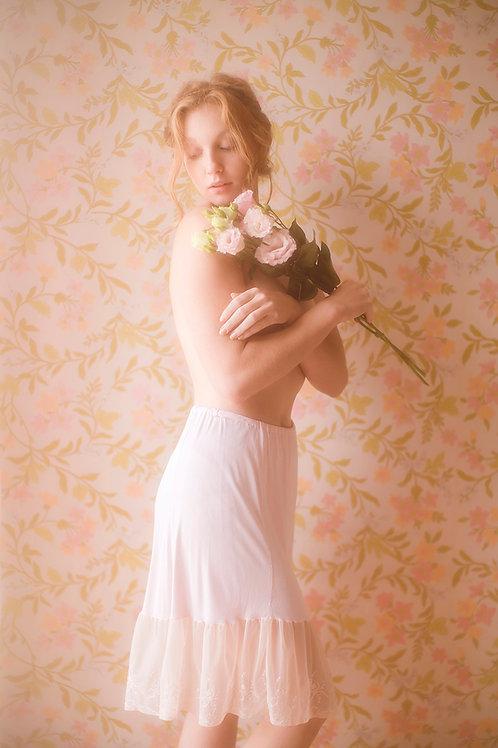 Vintage Pastel Pink Underskirt