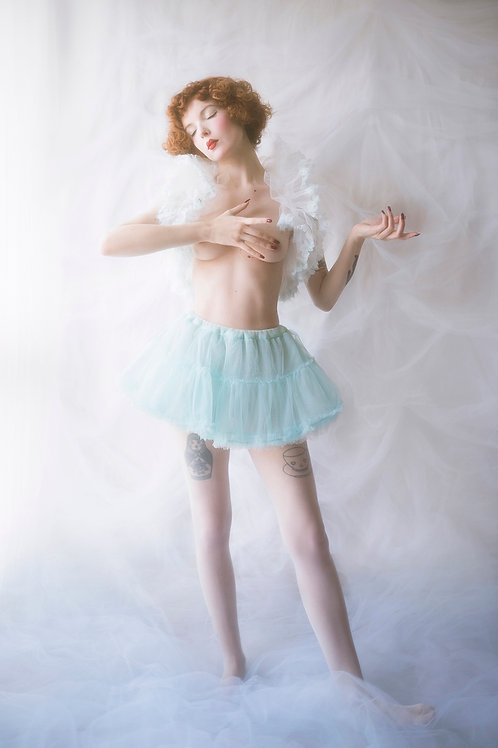 Pastel Blue Short Tutu