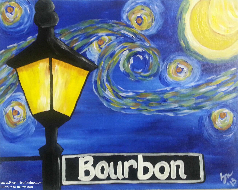 Starry Night on Bourbon