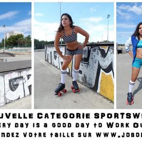 Création d'une catégorie sportswear