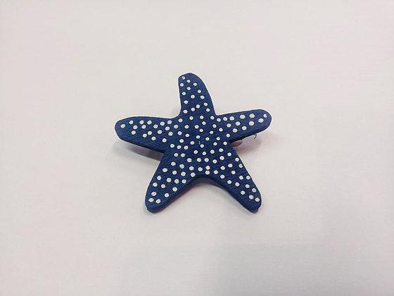 Broche étoile de mer