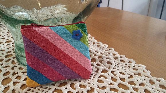 Porte monnaie multicolor