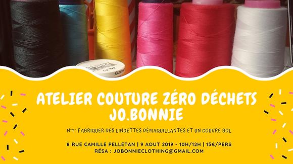 Atelier couture zéro déchet #1