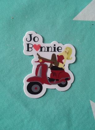 Sticker Jo.Bonnie | fond blanc