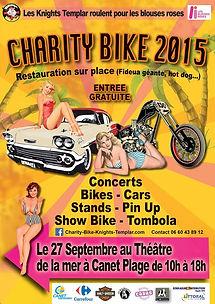 Jo.Bonnie au Charity Bike Canet en Roussillon