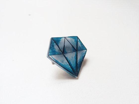 Broche diamant