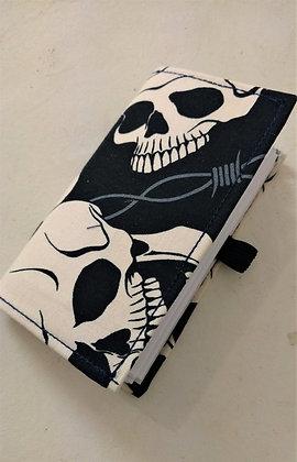 Carnet de note skull
