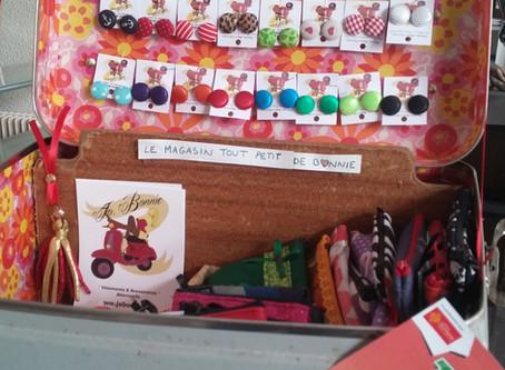 Mini-boutique Jo.Bonnie au TGS Perpignan