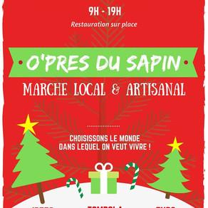 Stand C.A.D au marché de Noël de O'Près Cabestany