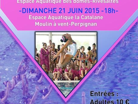 Gala de natation synchronisée 2015