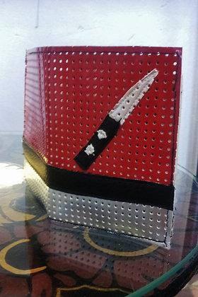 Porte cartes - CB - couteau