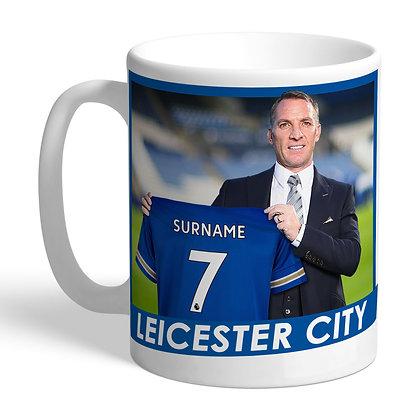 Leicester City FC Manager Mug