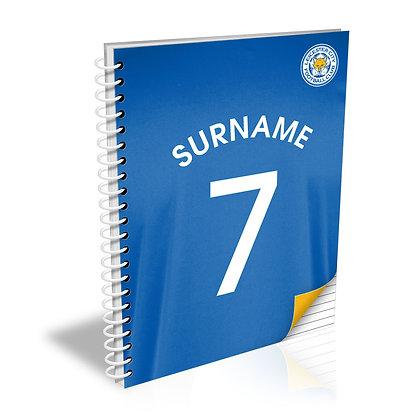 Leicester City FC Shirt Notebook