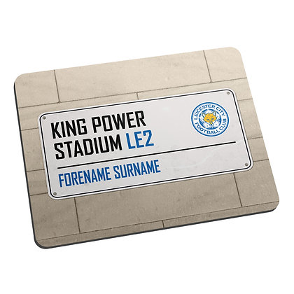 Leicester City FC Street Sign Mouse Mat