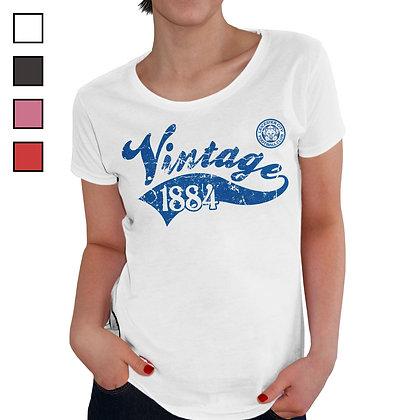 Leicester City FC Ladies Vintage T-Shirt