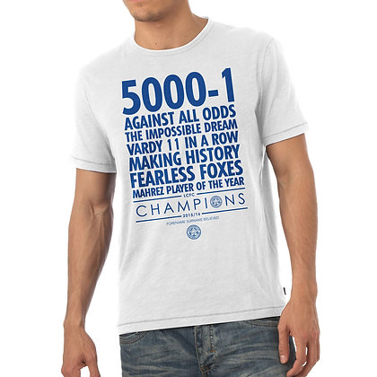 Men's Leicester City FC Believe T-Shirt