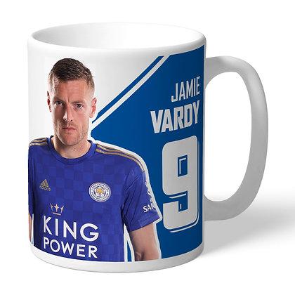 Leicester City FC Vardy Autograph Mug